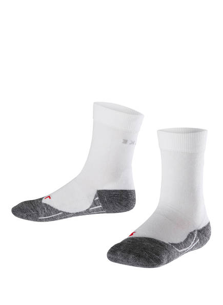 FALKE Running-Socken RU4, Farbe: GRAU/ WEISS (Bild 1)