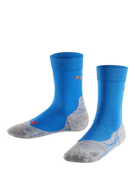 FALKE Running-Socken RU4, Farbe: BLAU/ GRAU MELIERT (Bild 1)