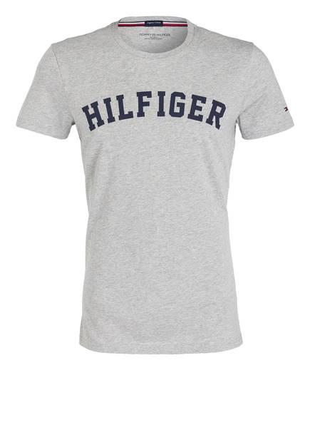TOMMY HILFIGER Lounge-Shirt, Farbe: GRAU MELIERT (Bild 1)