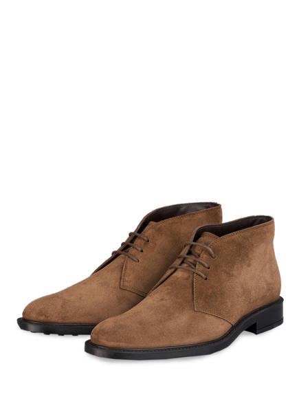TOD'S Desert-Boots, Farbe: HELLBRAUN (Bild 1)