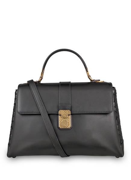 BOTTEGA VENETA Handtasche PIAZZA MEDIUM, Farbe: SCHWARZ (Bild 1)