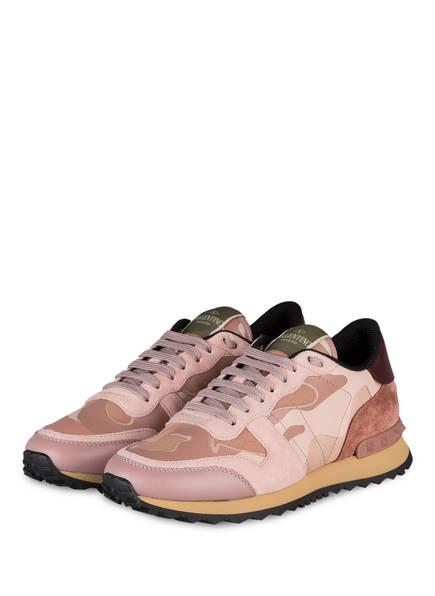VALENTINO GARAVANI Sneaker CAMOUFLAGE, Farbe: ROSÉ/ ALTROSA/ BORDEAUX (Bild 1)