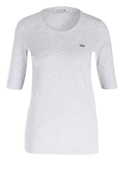 LACOSTE T-Shirt mit 3/4-Arm, Farbe: GRAU MELIERT (Bild 1)