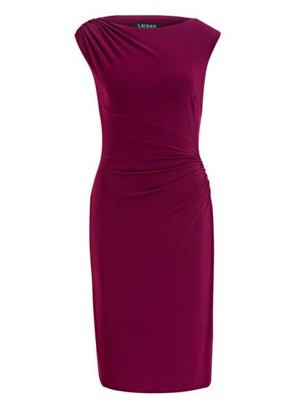 LAUREN RALPH LAUREN Jerseykleid , Farbe: DUNKELLILA (Bild 1)