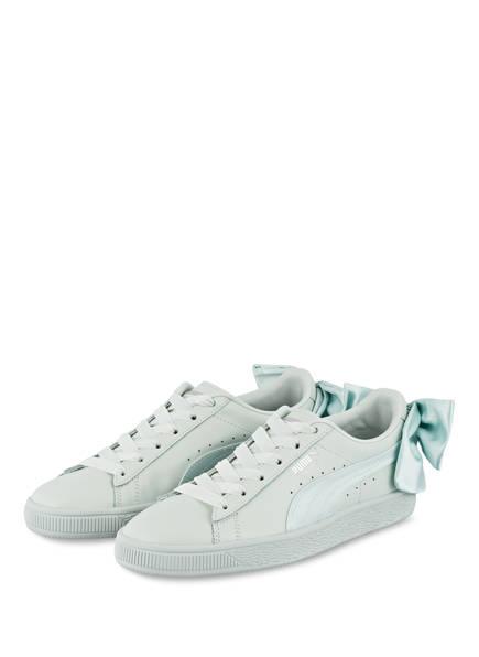PUMA Sneaker BASKET BOW , Farbe: MINT (Bild 1)