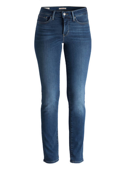Levi's® Shaping Slim Jeans 312, Farbe: 0077 DECOY BLUE (Bild 1)