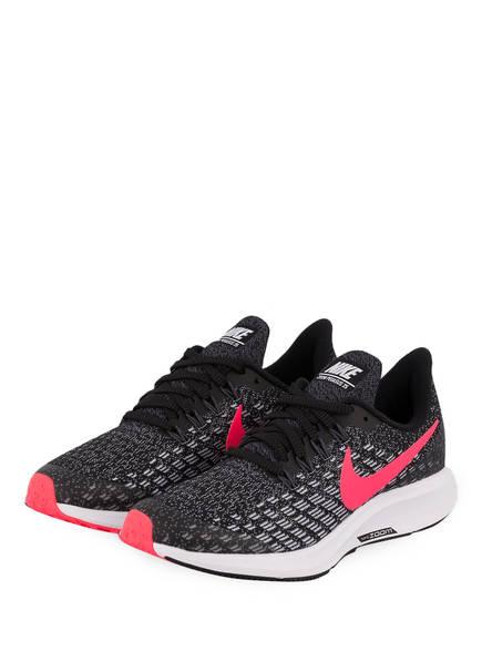 Nike Laufschuhe AIR ZOOM PEGASUS 35 GS, Farbe: SCHWARZ/ PINK (Bild 1)