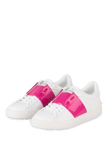 VALENTINO GARAVANI Sneaker OPEN, Farbe: WEISS/ PINK (Bild 1)