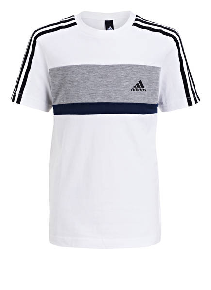 adidas T-Shirt ID, Farbe: WEISS/ NAVY (Bild 1)