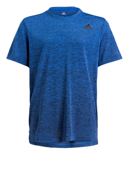 adidas T-Shirt GRADIENT, Farbe: BLAU/ MELIERT (Bild 1)