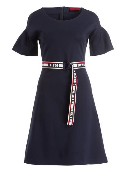 HUGO Jerseykleid NETISSA, Farbe: DUNKELBLAU (Bild 1)