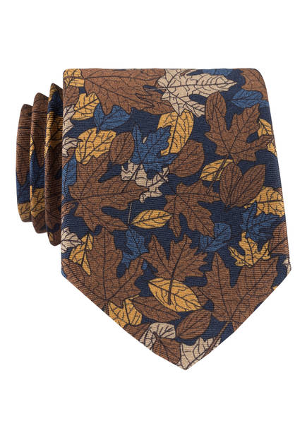 ZZegna Krawatte, Farbe: BRAUN/ ORANGE/ BLAU (Bild 1)