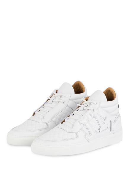 LEANDRO LOPES Hightop-Sneaker FAISCA EDITION 1 , Farbe: WEISS (Bild 1)