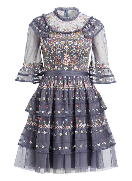 needle & thread Kleid PARADISE , Farbe: BLAUGRAU (Bild 1)
