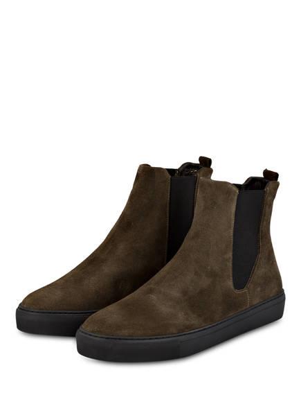 ROYAL REPUBLIQ Chelsea-Boots SPARTACUS, Farbe: DUNKELGRÜN (Bild 1)
