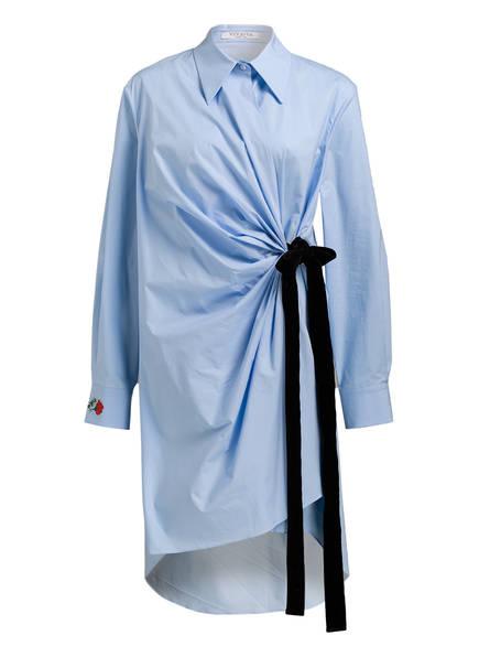 VIVETTA Blusenkleid PISSARRO, Farbe: HELLBLAU (Bild 1)