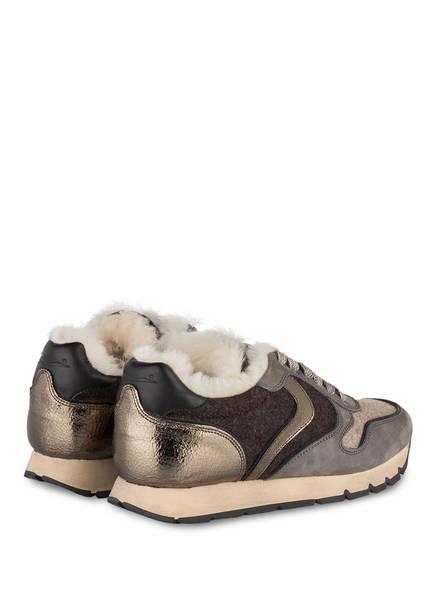 Dunkelbraun Blanche Voile Sneaker Taupe Julia Beige wXZwORUqn