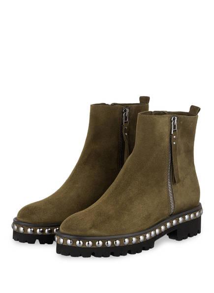 KENNEL & SCHMENGER Plateau-Boots NIA , Farbe: OLIV (Bild 1)