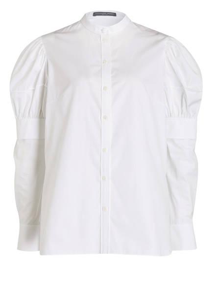 ALEXANDER McQUEEN Bluse, Farbe: WEISS (Bild 1)