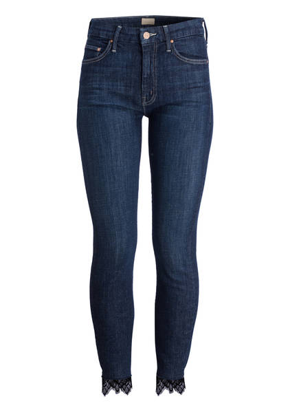 MOTHER Skinny-Jeans, Farbe: LCW LACEY CLEAN SWEEP DARK BLUE (Bild 1)
