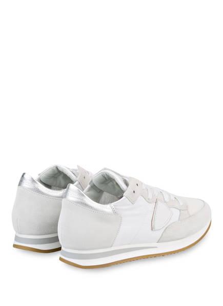 Model Tropez Philippe Tropez Weiss Sneaker Philippe Sneaker Model Weiss dX7wBxx