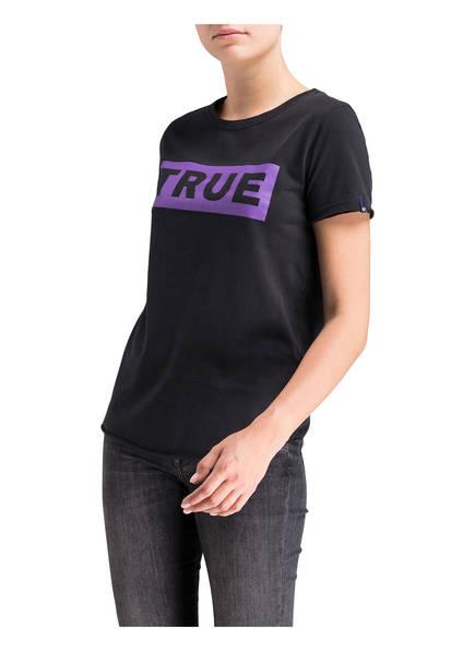 True Religion Schwarz Religion True T T shirt shirt 7ZqSBx