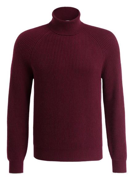 BRUNELLO CUCINELLI Cashmere-Rollkragenpullover, Farbe: BORDEAUX (Bild 1)