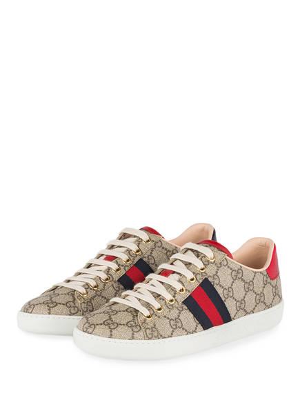 GUCCI Sneaker GG SUPREME, Farbe: BEIGE EBONY (Bild 1)