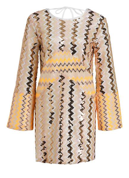 RAGYARD Kleid, Farbe: GOLD/ GELB/ NUDE (Bild 1)