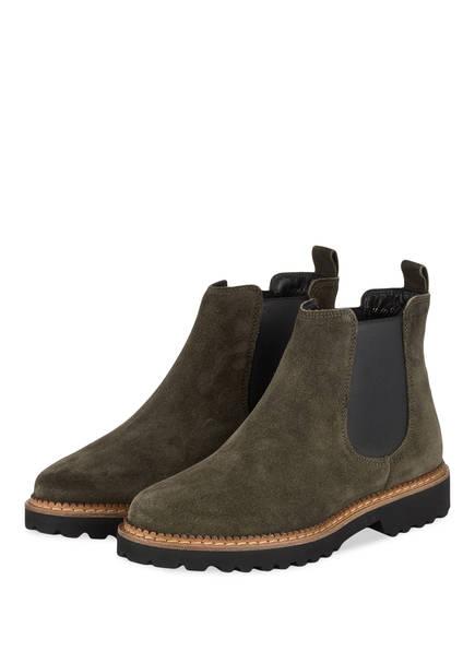 Sioux Chelsea-Boots VESELA, Farbe: GRÜN (Bild 1)
