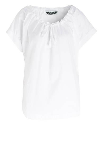 LAUREN RALPH LAUREN Blusenshirt, Farbe: WEISS (Bild 1)