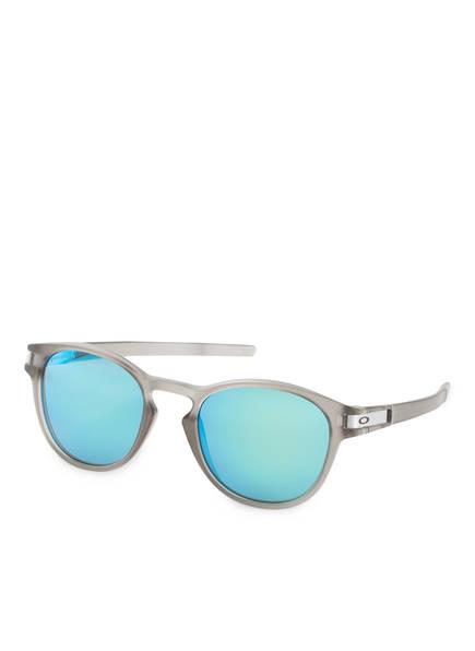 OAKLEY Sonnenbrille LATCH , Farbe: 926532 - GRAU/ BLAU VERSPIEGELT PRIZM (Bild 1)