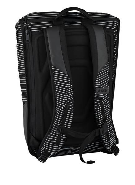 Rucksack DAYPACK mit Laptopfach von AEVOR   SCHWARZ/ WEISS