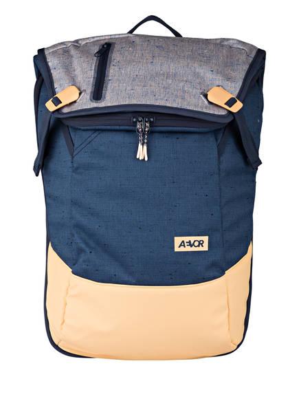 AEVOR Rucksack DAYPACK mit Laptopfach, Farbe: BLAU/ APRICOT (Bild 1)
