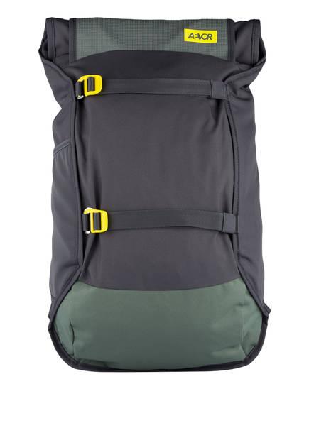 AEVOR Rucksack TRIP PACK mit Laptopfach 31 l (erweiterbar auf 33 l), Farbe: GRÜN/ GRAU (Bild 1)