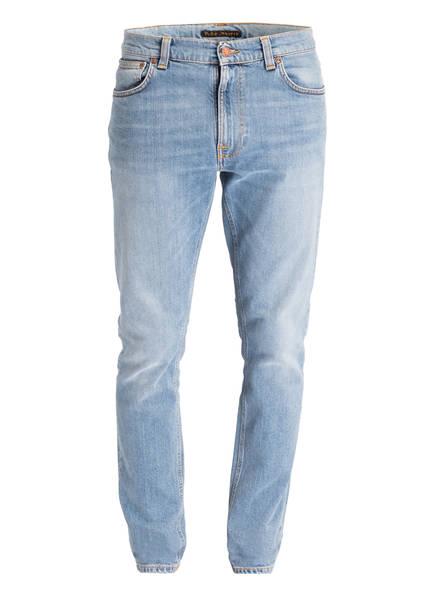 Nudie Jeans Jeans LEAN DEAN Slim Tapered Fit, Farbe: MIDSTONE COMFORT BLUE (Bild 1)