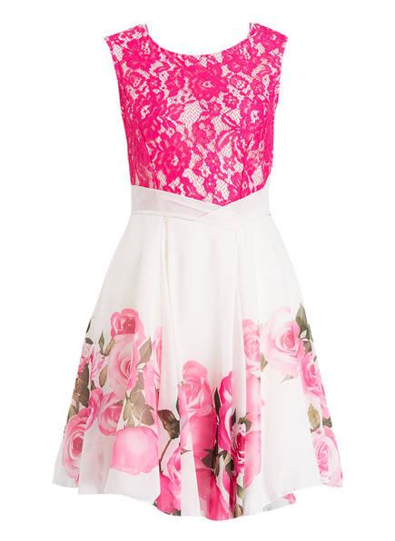 RINASCIMENTO Kleid, Farbe: PINK/ WEISS/ OLIV (Bild 1)