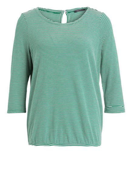Marc O'Polo Shirt, Farbe: GRÜN/ WEISS GESTREIFT (Bild 1)