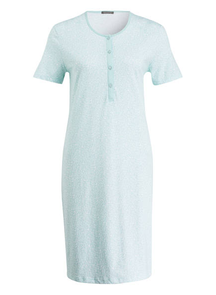 SCHIESSER Nachthemd, Farbe: MINT/ WEISS (Bild 1)