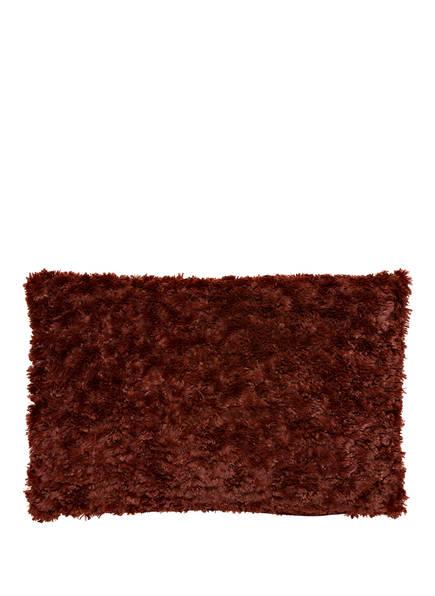 PROFLAX Dekokissenhülle IWONA aus Kunstfell , Farbe: BRAUN  (Bild 1)