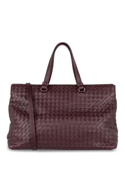 BOTTEGA VENETA Handtasche, Farbe: DUNKELROT (Bild 1)