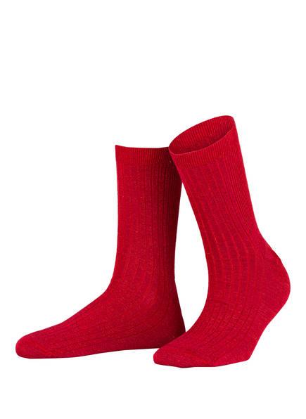 ALTO MILANO Socken, Farbe: ROT (Bild 1)