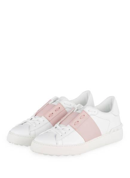 VALENTINO GARAVANI Sneaker ROCKSTUD, Farbe: WEISS/ ROSÉ (Bild 1)