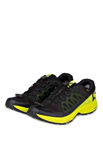 SALOMON Trailrunning-Schuhe XA ELEVATE GTX , Farbe: SCHWARZ/ NEONGRÜN (Bild 1)