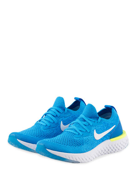 Nike Laufschuhe EPIC REACT FLYKNIT, Farbe: BLAU/ WEISS (Bild 1)