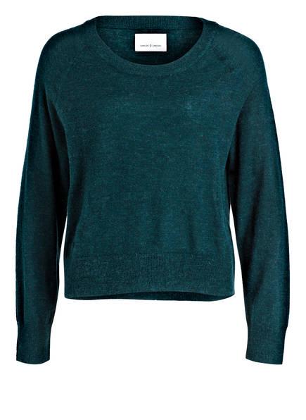 SAMSØE & SAMSØE Pullover LEMBA, Farbe: PETROL (Bild 1)