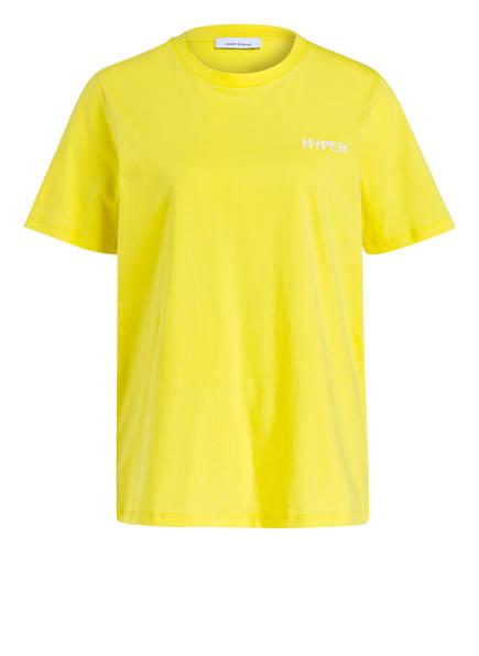 SAMSØE & SAMSØE T-Shirt TIA, Farbe: GELB (Bild 1)
