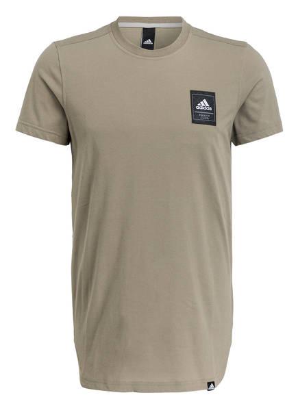 adidas T-Shirt SCOOP INTERNATIONAL, Farbe: OLIV (Bild 1)