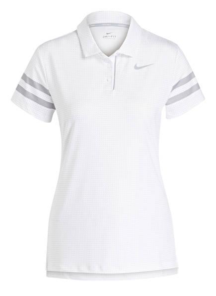 Nike Funktions-Poloshirt, Farbe: WEISS (Bild 1)