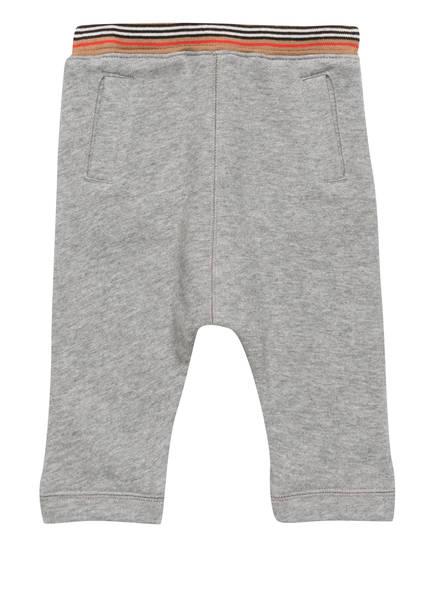 BURBERRY Sweatpants, Farbe: GRAU MELIERT (Bild 1)